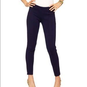 Lilly Pulitzer Navy Travel Elastic Pants Size XL